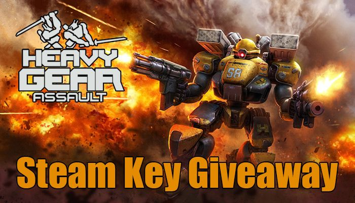 Heavy Gear Assault - Early Access Key Steam Giveaway