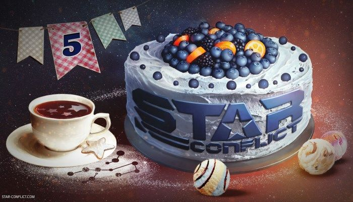 Fifth Birthday Launches with Celebratory Gifts & XP Boons - Star Conflict News