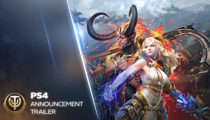 Skyforge Coming to the PS4! - MMORPG.com