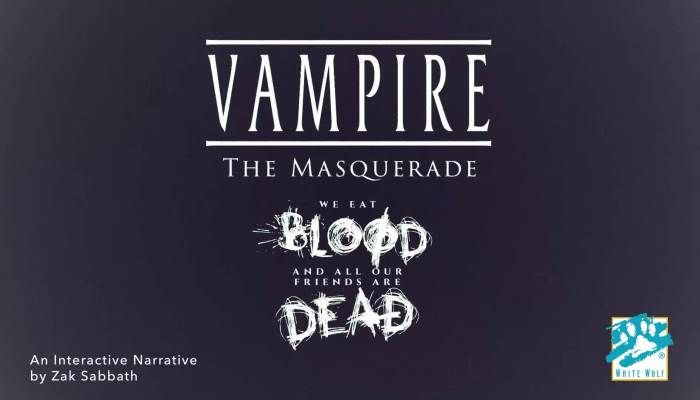 Vampire & Mage Interactive Games Released by White Wolf