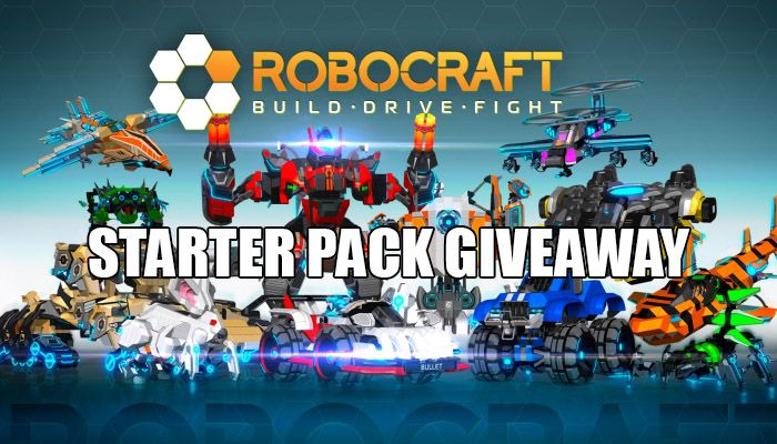 Starter Pack Giveaway! - Robocraft News