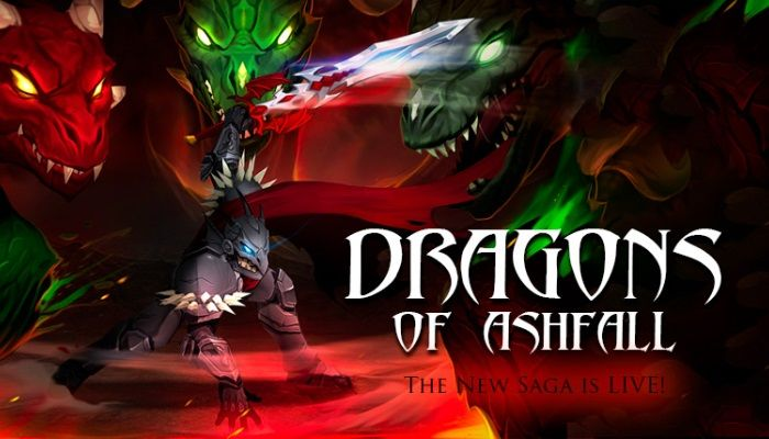 Dragons of Ashfall Brings a New Level Cap - Adventure Quest 3D News