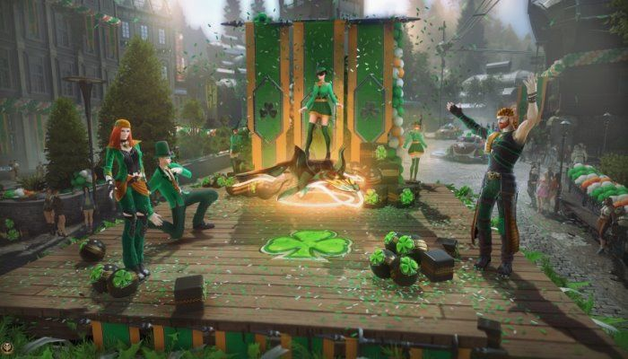 St. Patrick's Day Arrives for Immortals - Skyforge - MMORPG.com