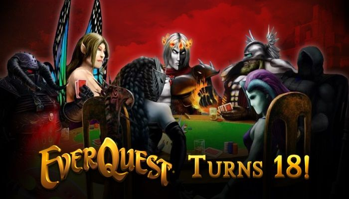 Grab a Free Heroic Character in Celebration of 18 Big Years - EverQuest News