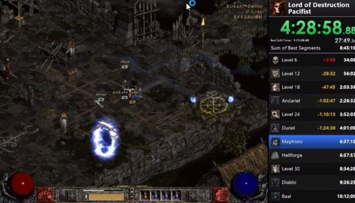 Diablo 2 Player Conquers Hell Without a Single Fight