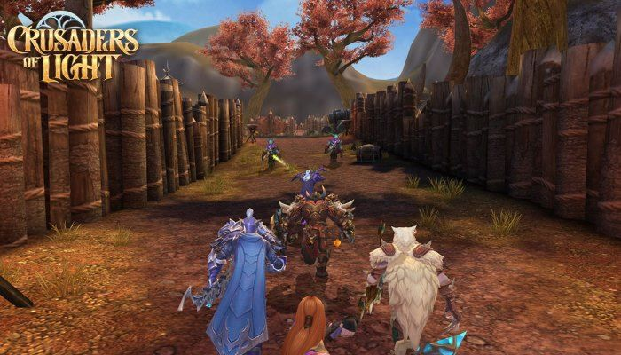 Net Ease Announces Mobile MMO Crusaders of Light