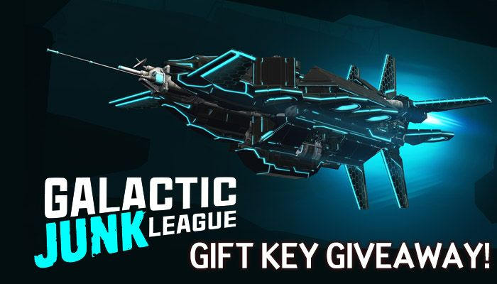 Galactic Junk League Gift Key Giveaway!
