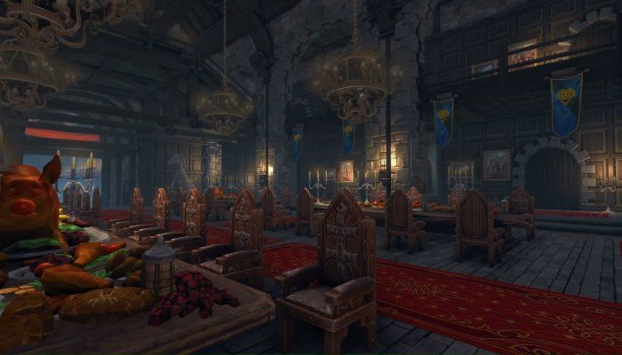 Building the Heart of Your Stronghold - The Great Hall - Neverwinter - MMORPG.com
