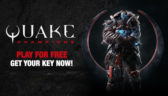Quake Champions Closed Beta Key Giveaway