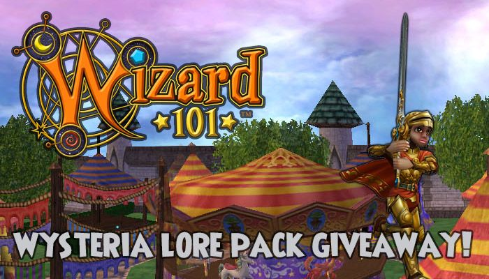 Wizard101 Wysteria Lore Pack Giveaway! - MMORPG com