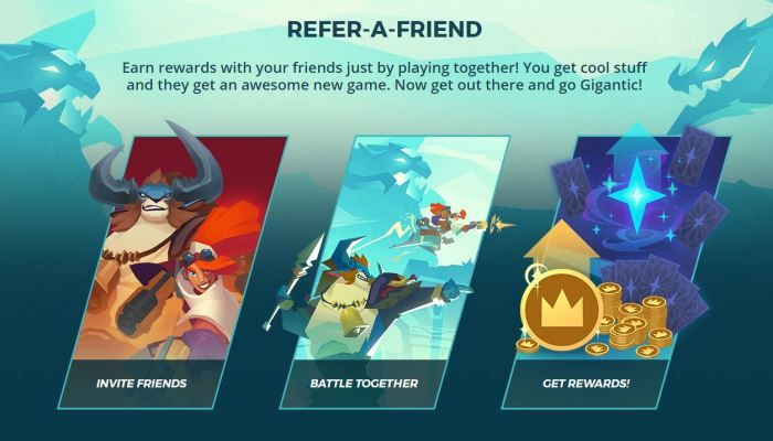 New Refer-a-Friend Program Launches - Gigantic News