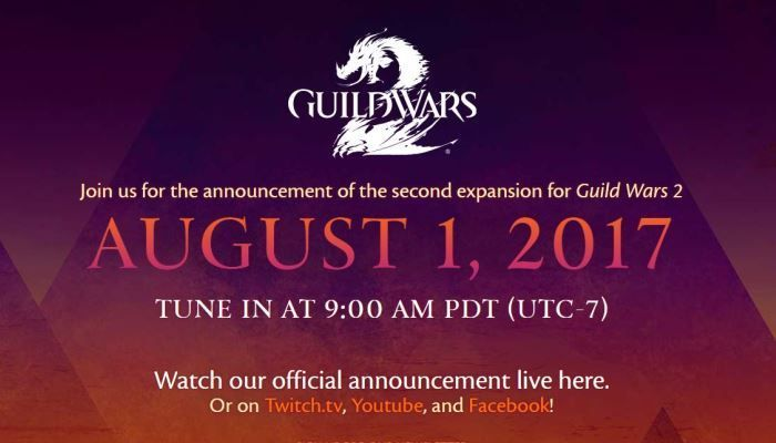 Don't Forget Today's Expansion Reveal in About 90 Minutes! - Guild Wars 2 - MMORPG.com
