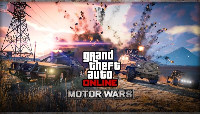 Take Part in Motor Wars & Earn Double GTA$ - MMORPG.com
