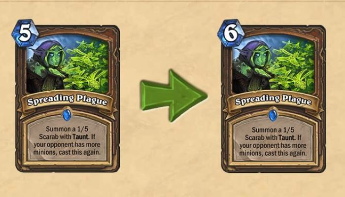 BAM Goes the Nerf Bat Sending 5 Cards Scrambling - Hearthstone News