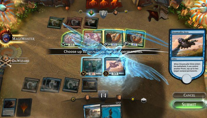 Magic: The Gathering Arena Card Game Unveiled