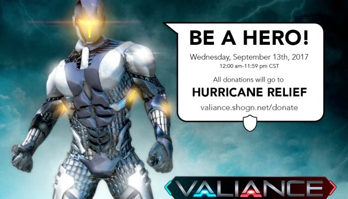 'Be a Hero' Campaign to Raise Funds for Hurricane Relief