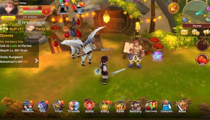 Flyff Legacy is Based on Flyff MMO & Heads to Mobile Devices in North America