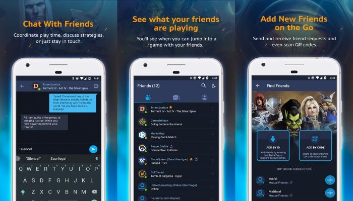 Blizzard Releases the Battle.Net App for Android & iOS
