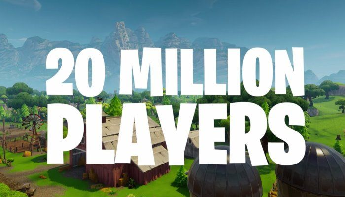 Nipping at PUBG's Heels, Fortnite Scores 20M Battle Royale Players - Fortnite - MMORPG.com