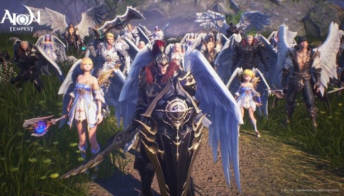 Aion Tempest is a New Mobile MMO Set 900 Years in the Past