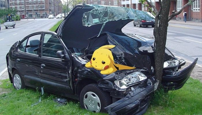 New Study Blames Driver Obsession with Pokemon Go on Increased Vehicle Damages & Deaths - Pokemon Go News