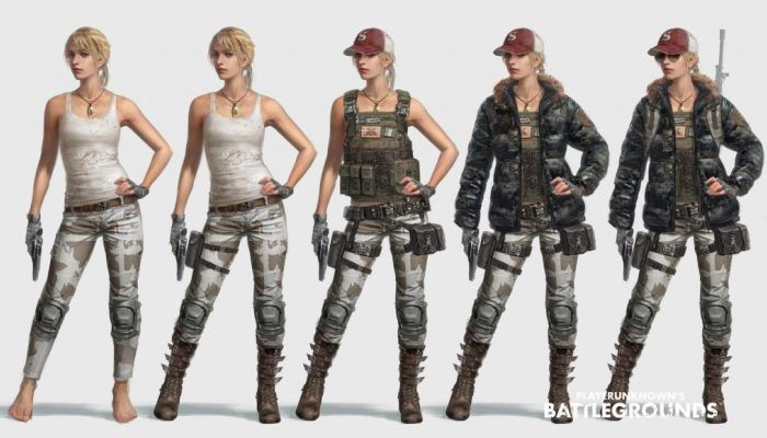 PUBG Team Apologizes for Inappropriate Female Model on Test Server - MMORPG.com