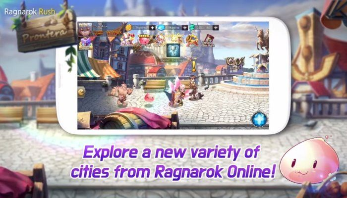 Ragnarok RUSH Hitting Mobile Devices Soon, Hearkens Back to Ragnarok Online