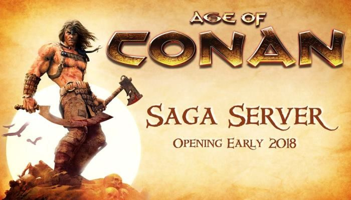 Funcom to Launch Limited Time 'Saga Servers' in 2018 - Age of Conan: Unchained News