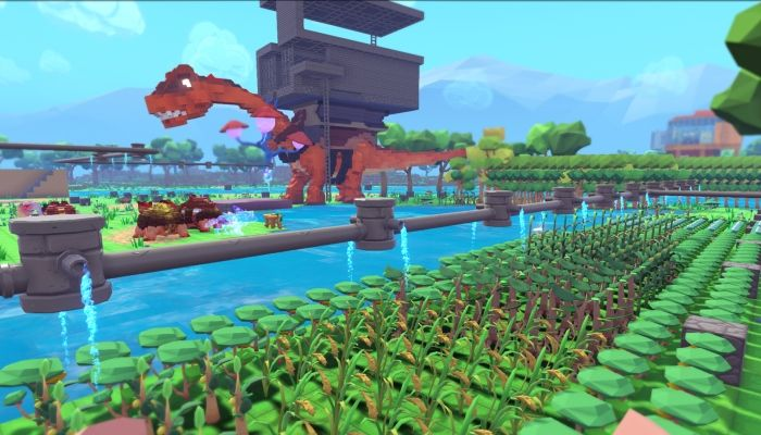 Open World Sandbox Survival Game, PixARK, Headed to EA in March