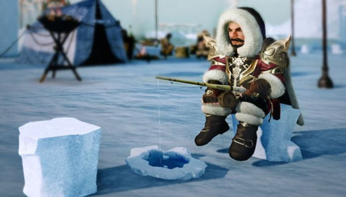 Miroir Tundra Ice Fishing Festival Kicks Off  - ArcheAge News