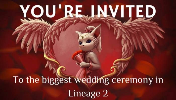 Classic EU Version to Host the 'Biggest Wedding Ceremony' Event - Lineage 2 News
