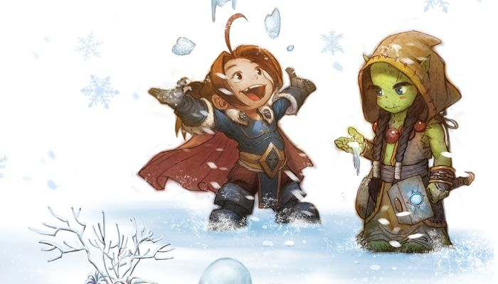 Chris Metzen Publishes Children's Book Called 'Snow Fight: A WarCraft Tale' - World of Warcraft - MMORPG.com