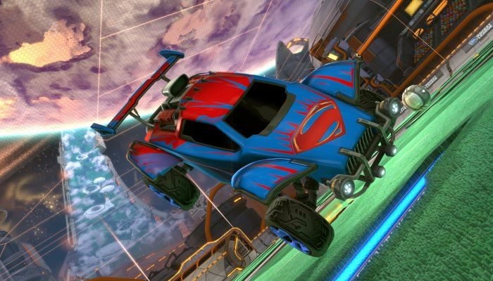 Drive the Batmobile from the DC Super Heroes DLC Pack - Rocket League - MMORPG.com