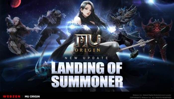 MU Origin - The Summoner Class Arrives