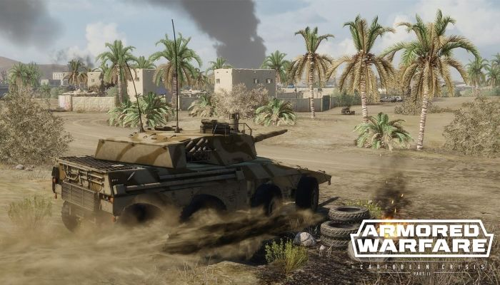 Caribbean Crisis Part II Arrives for PC with New Vehicles & More - Armored Warfare News