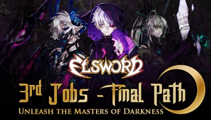 3rd Job Third Path Update Arrives & Marks the REturn of the Masters of Darkness - Elsword News