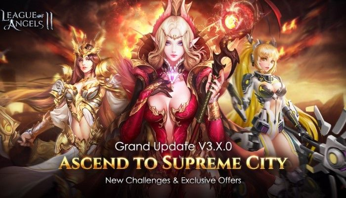 Large Update Expands the Universe with New Chapters & More - League of Angels II - MMORPG.com