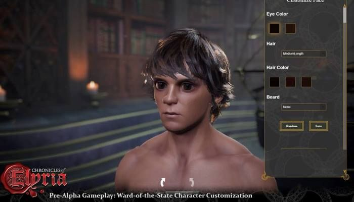 Soulbound Studios to Show Off Character Creation in Livestream Event Today - Chronicles of Elyria News