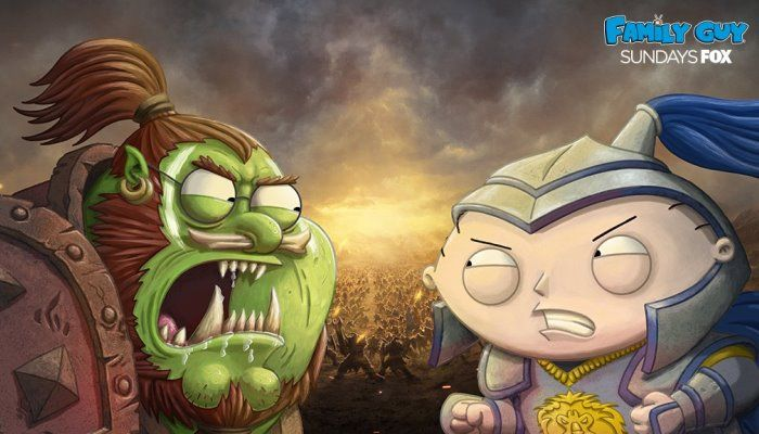 Orcs Vs Humans On Family Guy Maybe Though It Comes On April 1st