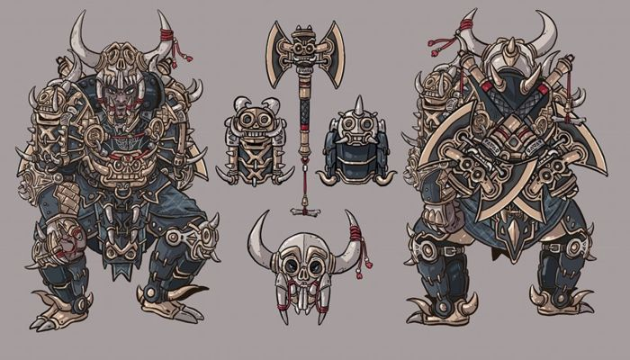 Global Costume Design Contest Winner Revealed as an Amazing Berserker Armor - MMORPG.com