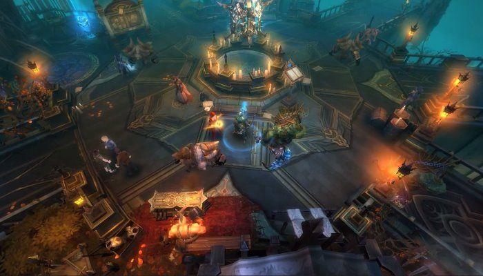 Tencent Bringing Mobile MMO Raziel to North America in 2018 - MMORPG