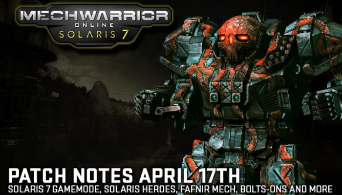 New Solaris Arena Combat Expansion Released - MechWarrior Online News