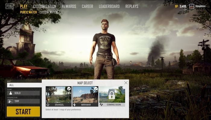 PUBG Corp Details Upcoming Map Selection UI - PlayerUnknown's Battlegrounds News