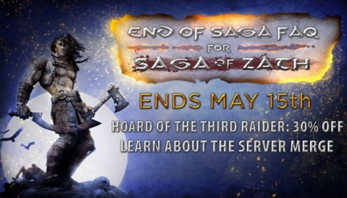 Saga & Crom Servers to Merge on May 15th - Age of Conan: Unchained News
