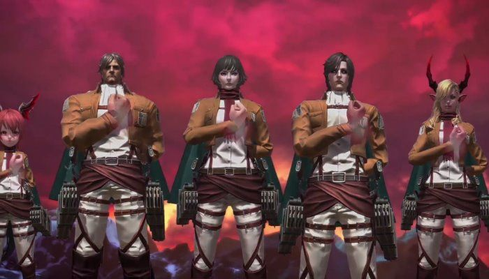 The Gilded Mask Content Update Arrives with Attack on Titan Collaboration - TERA - MMORPG.com