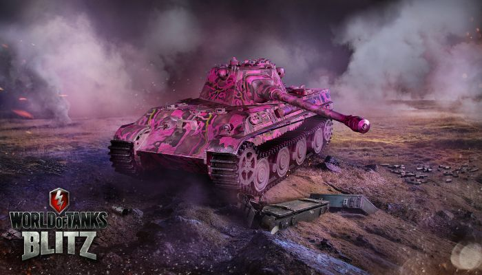 Blitz Tankers Can Wear Pink to Traumatize Their Foes - World of Tanks News