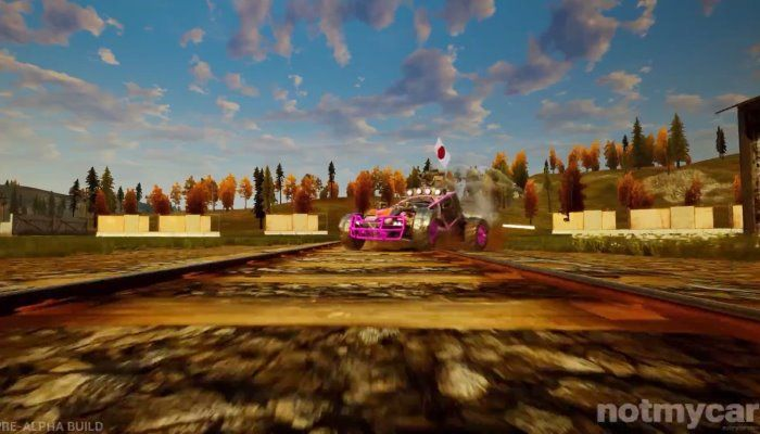 NotMyCar to Undergo 4 Weekends of Pre-Alpha Play Testing