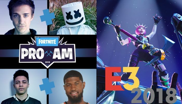 Celebrity Pro-Am During E3 will Feature a $3M Prize Pool for Charity - Fortnite - MMORPG.com