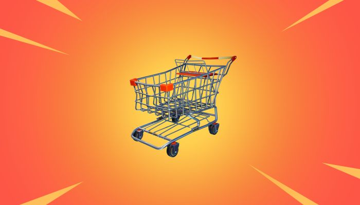 Yes, It's True - Fornite's First Vehicle is a Shopping Cart! - MMORPG.com