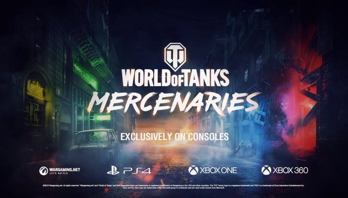 Mercenaries Expansion to be Exclusively Found on Console - World of Tanks News